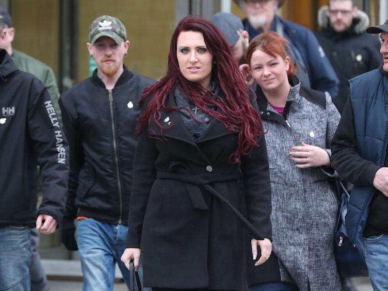 Jayda Fransen's Twitter account was recently blocked by the tech company: PA