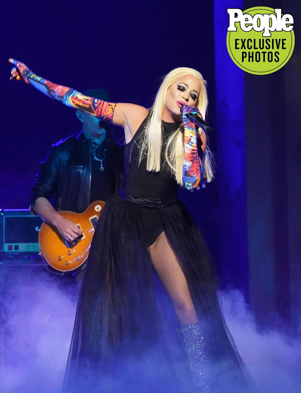 """<p>With more than 60 million views on YouTube and over 5000 shows performed, Erika Moul has earned her title of """"the best of the best"""" in the tribute world. Utilizing her BFA in theater, she stormed the big stage, starring in multiple shows in Las Vegas at only 21 years old.</p> <p>As an artistic producer and performer, she became the opening act for STYX's Dennis DeYoung, Luciana, Erika Jayne, and even Charlie Daniels at the National Finals Rodeo. Moul is known for her versatile sound and is reminiscent of artists such as Lady Gaga, Melissa Etheridge, Stevie Nicks and Carrie Underwood with her powerful vocals, vulnerable choices and unapologetic stage presence.</p>"""