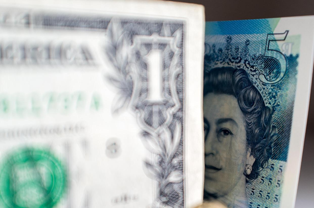 GBP waned against the dollar to trade at $1.3718 on Wednesday morning. Photo: Getty