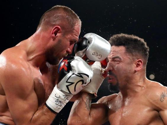 Ward knocked out Kovalev in 2017 before retiring (Getty)