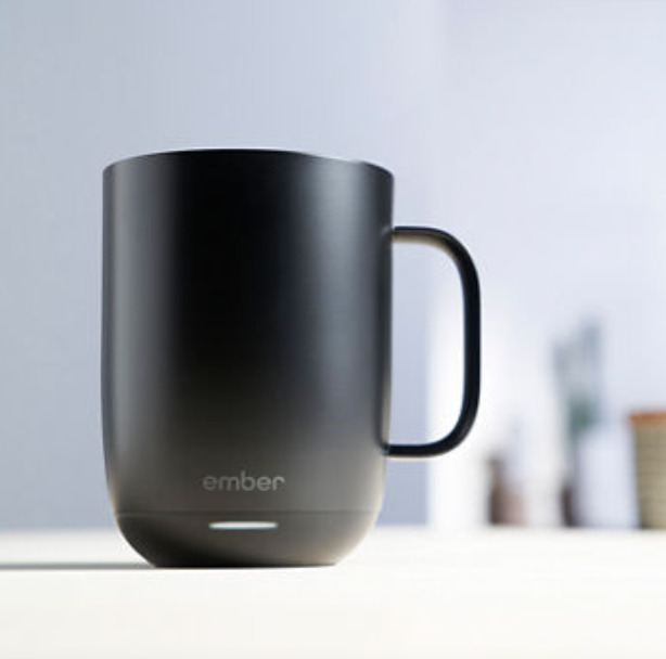 Adjust temperature and keep track of your coffee consumption — from your phone. (Photo: Ember)