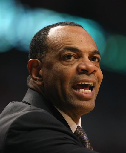 FILE - JULY 2: According to reports July 2, 2014, the Brooklyn Nets have agreed to a deal in principle with Lionel Hollins to be their next head coach. CHICAGO, IL - JANUARY 19: Head coach Lionel Hollins of the Memphis Grizzles reacts to a call from the referees during a game against the Chicago Bulls at the United Center on January 19, 2013 in Chicago, Illinois. The Grizzlies defeated the Bulls 85-82 in overtime. (Photo by Jonathan Daniel/Getty Images)