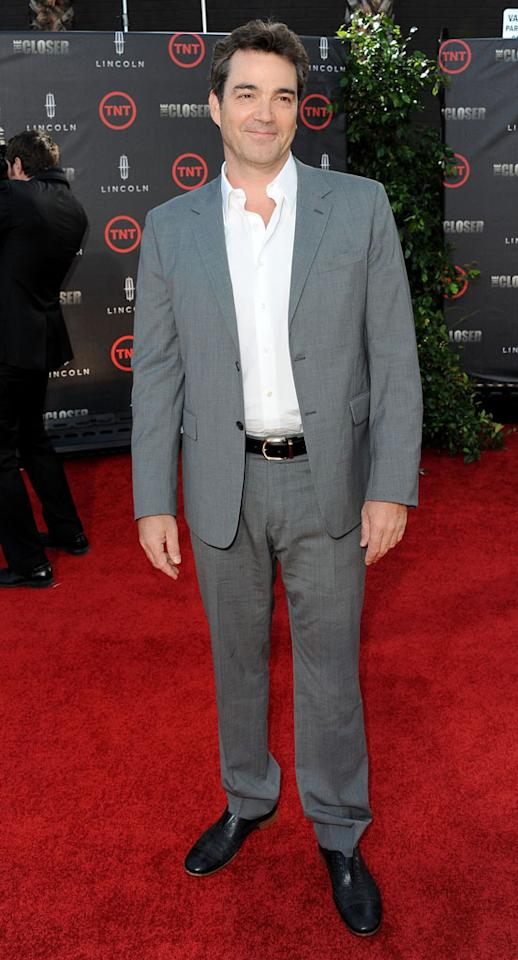 "Jon Tenney attends the special fan screening of TNT's ""The Closer"" series finale held at The Roosevelt Hotel on August 7, 2012 in Hollywood, California."