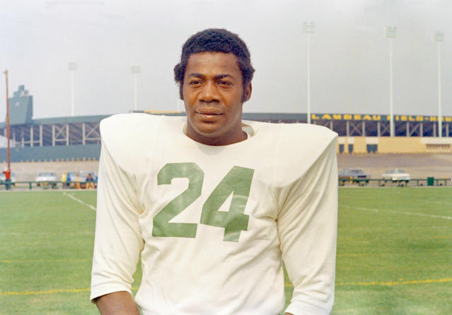 A Packers lifer whose interception of Len Dawson in Super Bowl I was the most memorable play of that game, Wood died at age 83 with no memory of that play – or his Hall of Fame induction – due to the devastating effects of dementia. Before landing with the Packers, where he won five championships and two Super Bowls as Vince Lombardi's All-Pro safety, Wood played quarterback at USC, becoming the first black QB at that program and in the conference that is now known as the Pac-12.