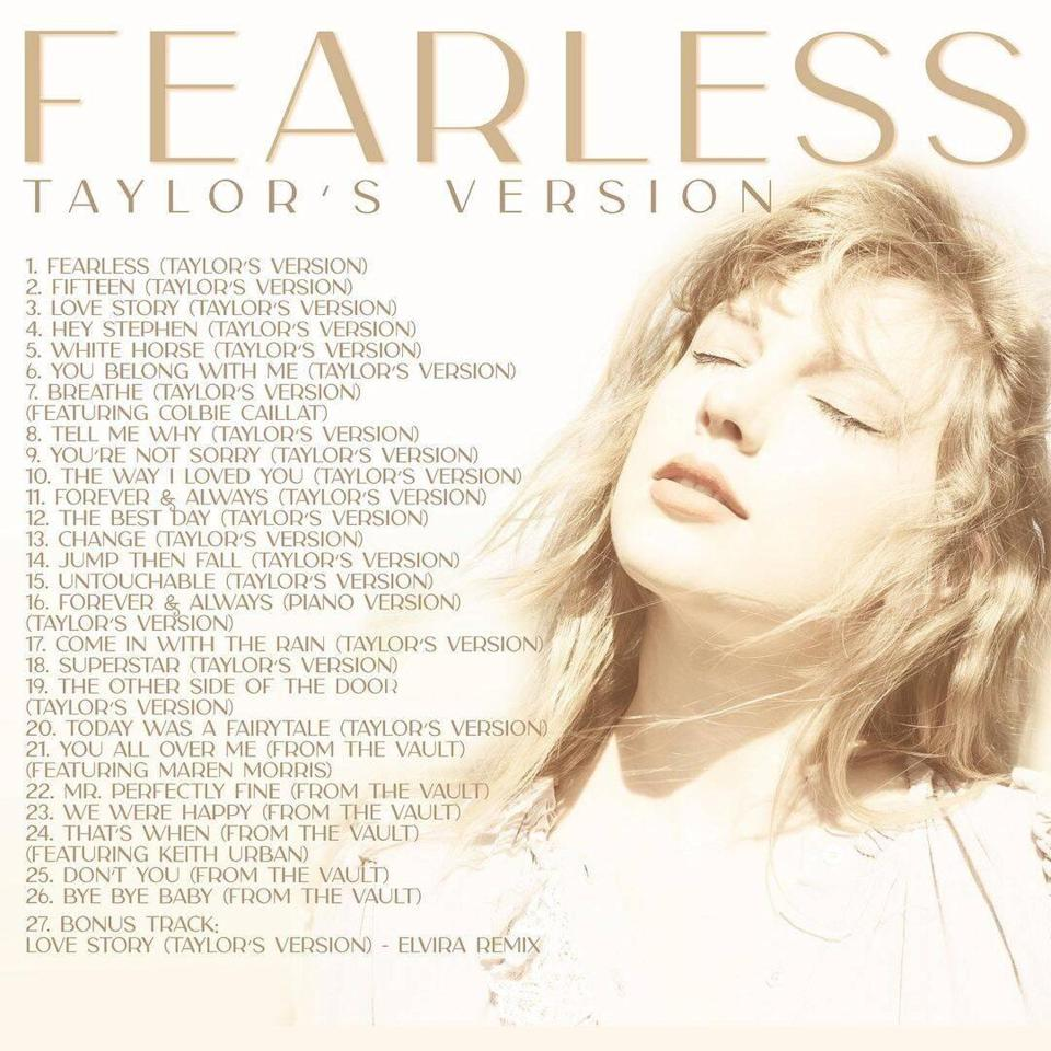 Taylor Swift Fearless Album
