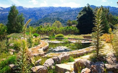 The Botanic Garden (jardi botanic) in Soller, Mallorca, Spain, - Credit: Tim Wright/Alamy
