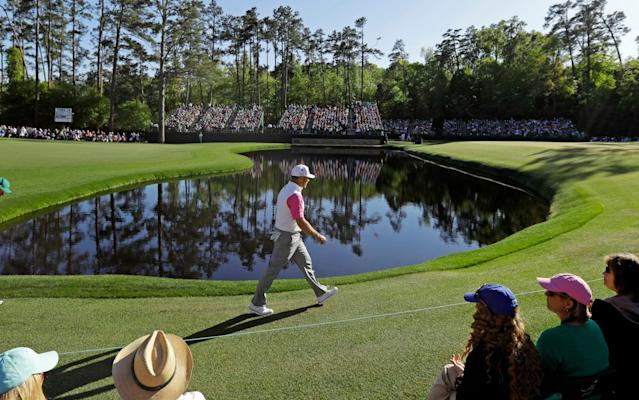 <span>Lee Westwood has a very consistent record at the Masters</span> <span>Credit: AP </span>