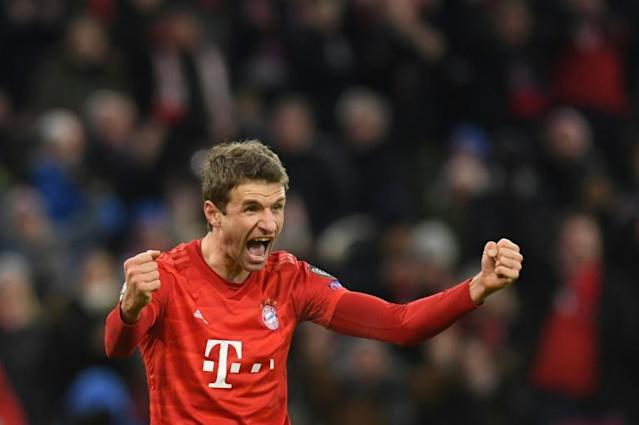 Mueller scored as Bayern denied Tottenham revenge for their 7-2 humbling in the pair's first meeting (AFP Photo/Christof STACHE )