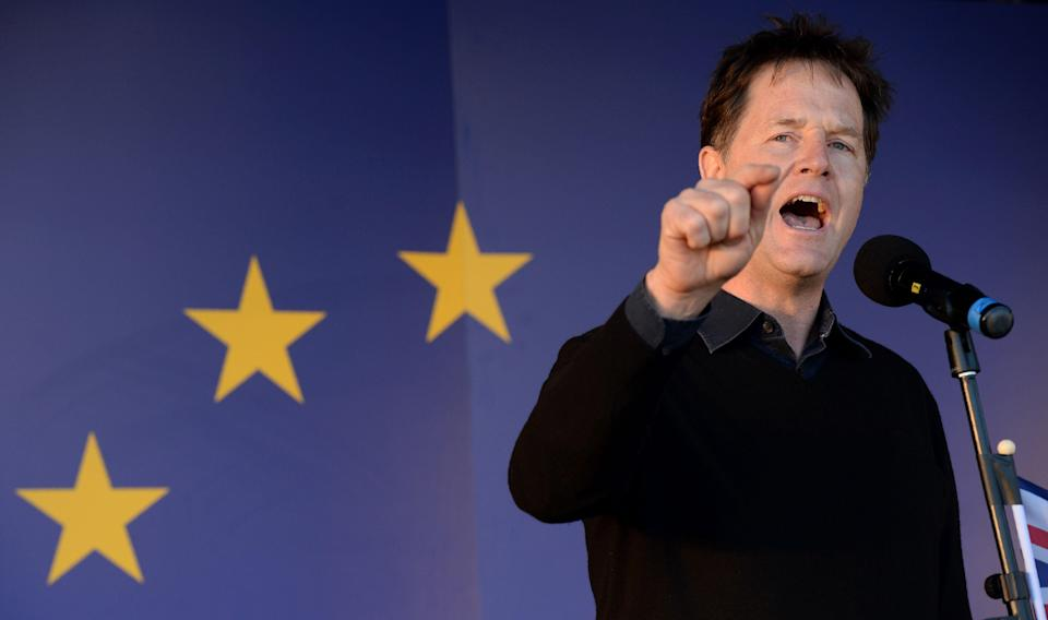 Nick Clegg has been hired by Facebook with a reputation as an EU insider (Getty)