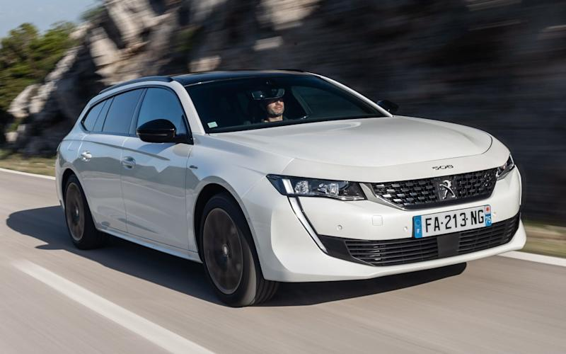Peugeot 508 SW - launch pics Nov 2018