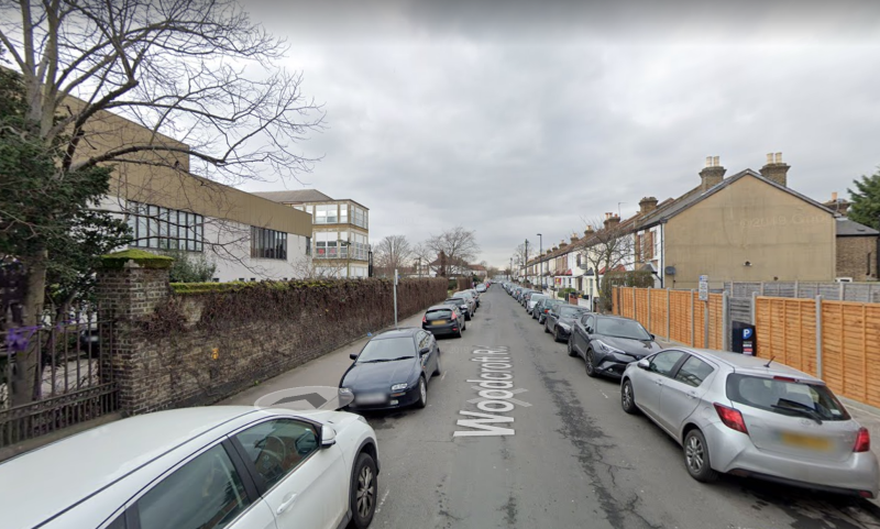 Woodcroft Road in Thornton Heath, where the 60-year-old was found with stab wounds (Picture: Google Maps)