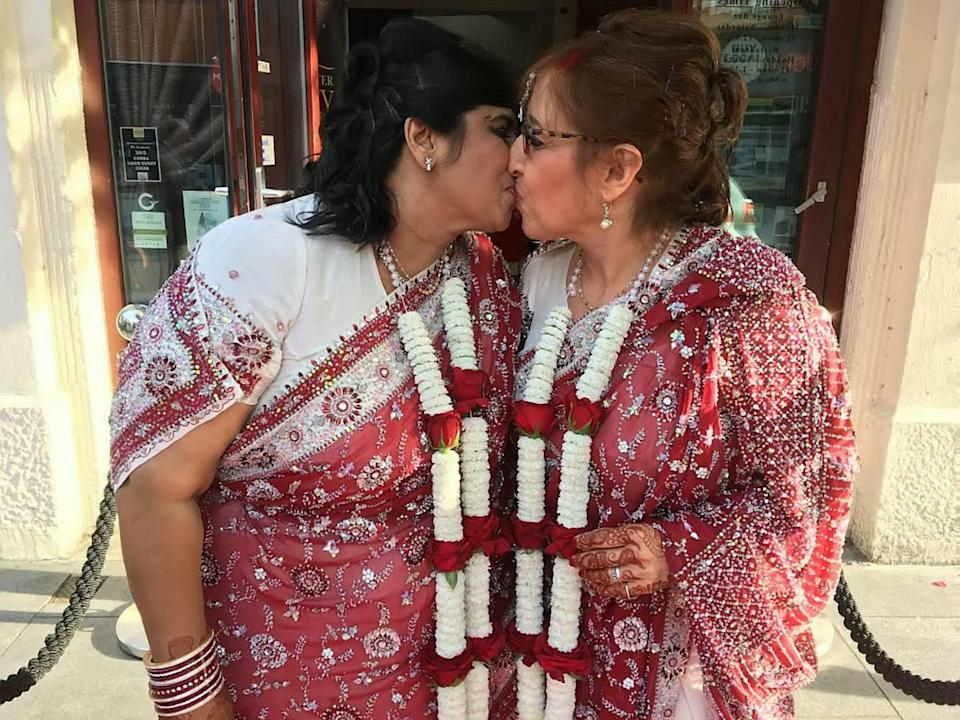 Kalaviti and Miriam's wedding is set to go down in the history books [Photo: SWNS]