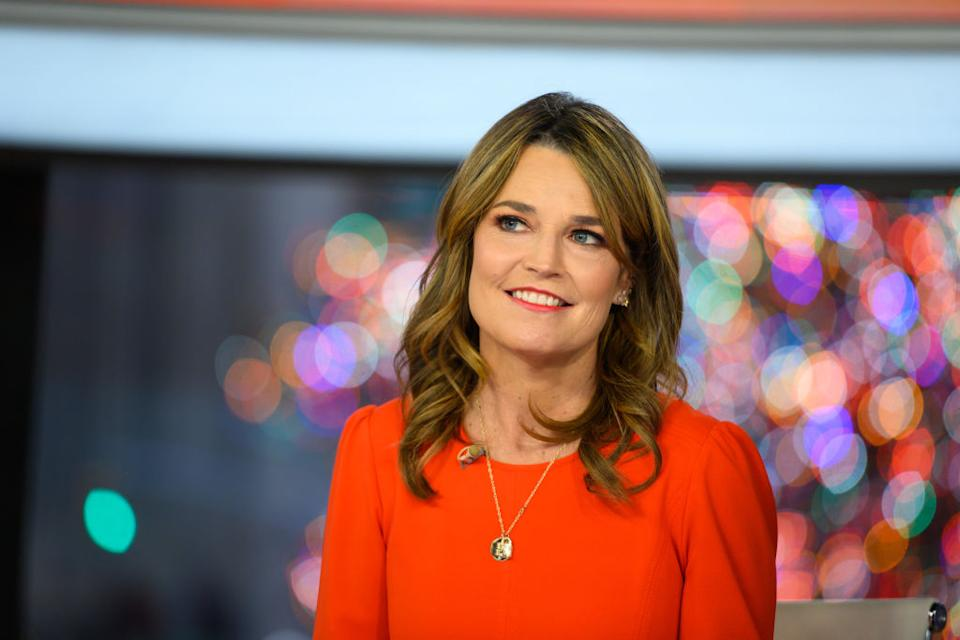 Savannah Guthrie requires cataract surgery after suffering an eye injury. (Photo by: Nathan Congleton/NBC/NBCU Photo Bank)