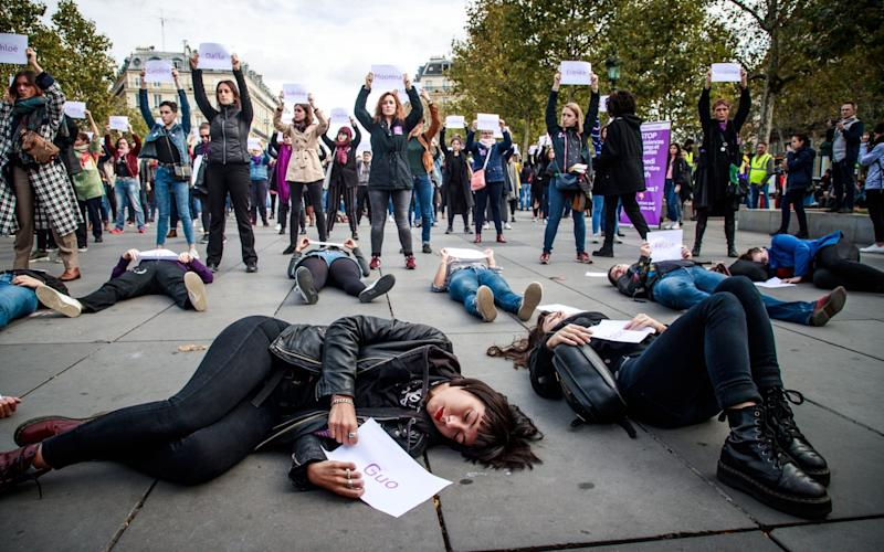 Femicide is a pronounced social issue in France, with feminist campaigners staging
