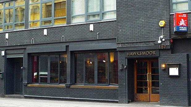 """<p>With multiple locations in London (and <a href=""""http://www.mensjournal.com/cms.php/essential/15808/%22http:/thehawksmoor.com/locations/manchester%22%20%5Ch"""">one slated to open in Manchester</a>), Hawksmoor has established itself as a small empire for those with a taste for quality steak in London. Tasty-looking cuts of beef occupy space on the menu beside seafood and other notable options. And the Hawksmoor Guildhall is among those restaurants whose focus on beef is so extensive that a tasting menu dedicated to it is available.</p><p><i>(Photo Courtesy of Ewan Munro / Flickr)</i></p><p><b></b></p>"""