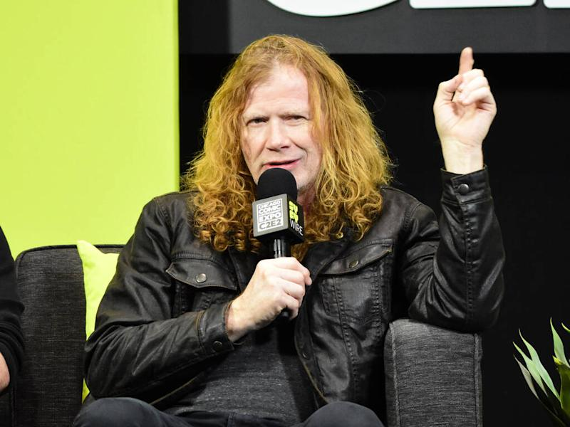 Megadeth rocker Dave Mustaine '100 per cent' cancer-free