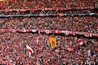 Liverpool fans prior to the UEFA Champions League Final at the Wanda Metropolitano, Madrid. (Photo by Joe Giddens/PA Images via Getty Images)