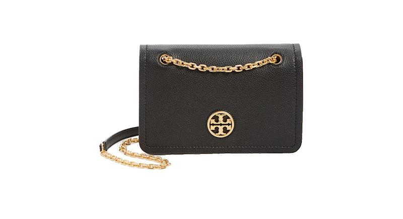 Tory Burch Carson Convertible Leather Crossbody Bag
