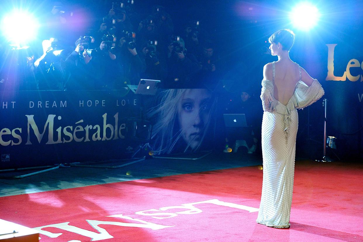Hathaway's Sexy Backless Style
