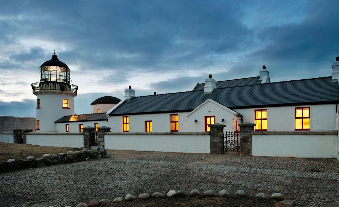 """<p>Clare Island was the home of Ireland's legendary pirate queen, Grace O'Malley, a contemporary of Elizabeth I, and according to her biographer, the """"most notorious woman in all the coasts of Ireland"""".</p><p>Though <a href=""""https://www.clareislandlighthouse.com/rooms/tower-house/"""" target=""""_blank"""">Clare Island Lighthouse</a> post-dates Grace O'Malley – being built in 1806 – the immersive lighthouse experience in the Tower House suite (situated in the actual lighthouse tower) brings you closer to the island's buccaneering heritage. The lighthouse operated for just seven years before its lantern was destroyed in a fire; after a new one was fitted, bad luck chimed once more when it was hit by lightning in 1834. Still, it soldiered on, and after 159 years of faithful service, the lighthouse was intentionally extinguished on 29 September 1965. Now a luxury hotel, it exudes a certain majesty as it looks out over Achill Island.</p><p>While you're there, be sure to visit <a href=""""https://www.clareisland.ie/see/the-abbey"""" target=""""_blank"""">St Brigid's</a>, an ancient Cistercian abbey where the O'Malley Tomb can be found. Look up and admire the rare, mediaeval frescoes on the ceilings that depict scenes from Irish folklore. Invade O'Malley's stronghold, <a href=""""https://www.clareisland.ie/see/granuaile-castle"""" target=""""_blank"""">Granuaile Castle</a>. And after a long day retracing the island's pirating past, stop off at the <a href=""""https://www.tripadvisor.co.uk/Restaurant_Review-g1800632-d4406371-Reviews-Sailor_s_Bar_and_Restaurant-Clare_Island_County_Mayo_Western_Ireland.html"""" target=""""_blank"""">Sailor's Bar & Restaurant</a> for something to sustain you on your adventures.</p>"""