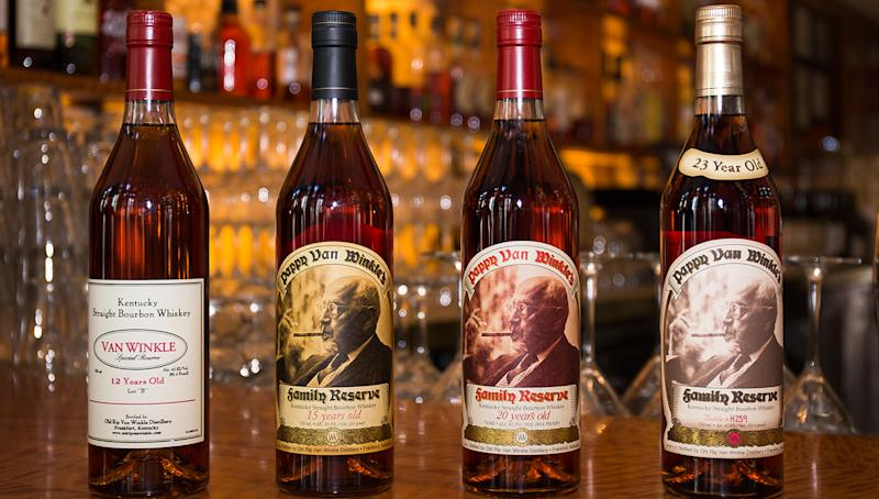Bryant Park Grill Offers a Rare Pappy Van Winkle Dinner