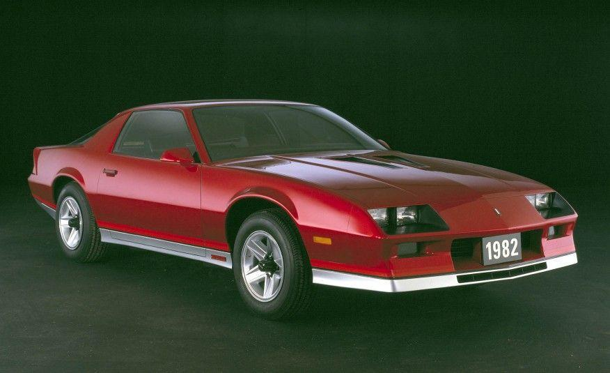"""<p>Truly all new, the 1982 Camaro used a full unitized structure, a new coil-spring rear suspension, and struts in the front. And for the first time, the Camaro was a hatchback. But while the new Camaro was modern and gorgeous in that flat-plane 1980s way, it was seriously underpowered. Base Sport Coupes were equipped with the heinous 2.5-liter """"Iron Duke"""" four-cylinder rated at 90 horsepower. A 112-hp, 2.8-liter V-6 was optional while the Z28's base 5.0-liter V-8 with a four-barrel carburetor put out only 145 ponies. But at least that engine could be had with a four-speed manual transmission. Opting for the 165-hp Cross-Fire-injected version of that engine meant going with a three-speed automatic.</p>"""