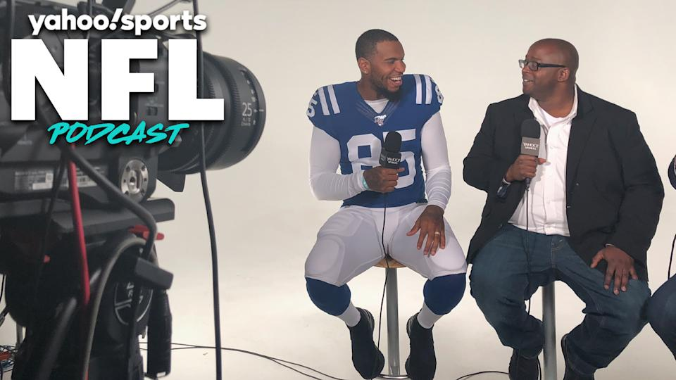 Terez Paylor speaks with former Colts TE Eric Ebron. (Yahoo Sports)