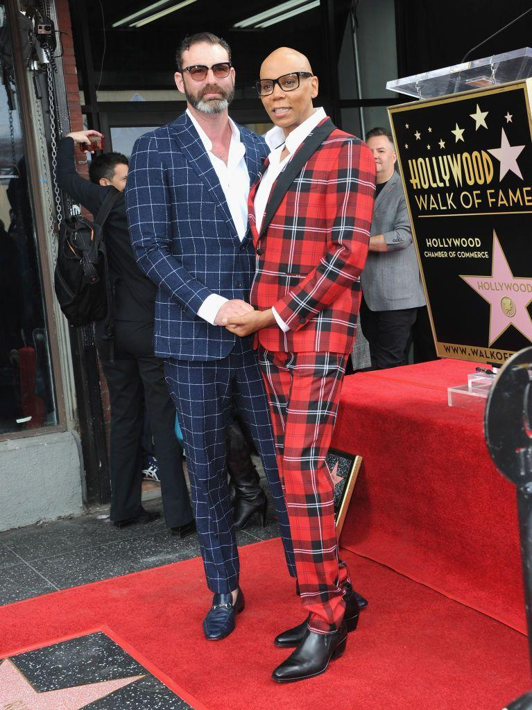 <p>The Drag Race host has been with partner LeBar since 1994, with the couple tying the knot in 2017.</p>