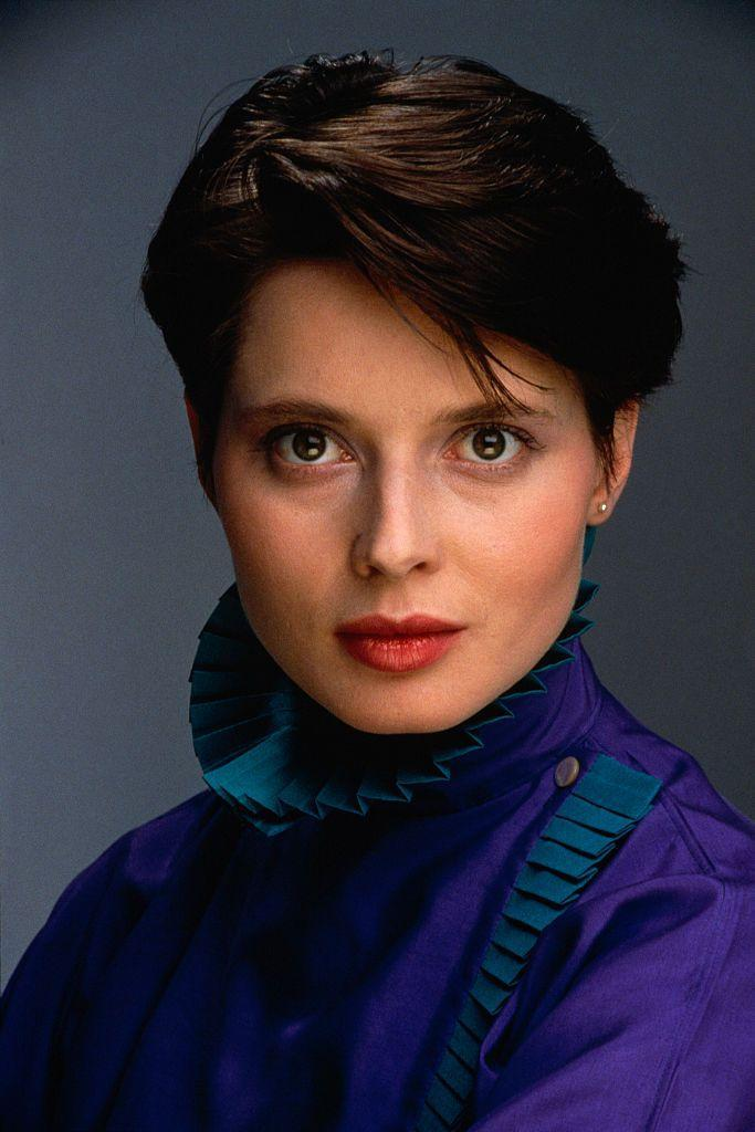 <p>Isabella Rossellini has a face tailor-made for the screen. The Roman actress and model is, after all, the daughter of Oscar winner Ingrid Bergman and film director Roberto Rossellini. Taking note of her movie star looks was Lancôme, the fragrance and cosmetics company that signed her up for a contract that lasted 14 years. She also fronted numerous magazine covers over the decades. Not to be outdone was her career in Hollywood (with parents like hers, it was inevitable). Rossellini starred in celebrated films, including <em>Blue Velvet, Death Becomes Her, </em>and <em>Silver Linings Playbook</em>. In 2018, 22 years after she was deemed too old at 43, Lancôme reinstated her as the brand ambassador.</p>