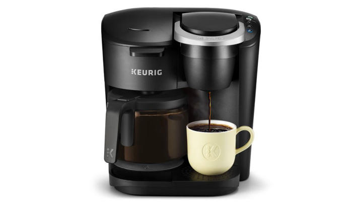 This Keurig has thousands of five-star reviews. (Photo: Walmart)