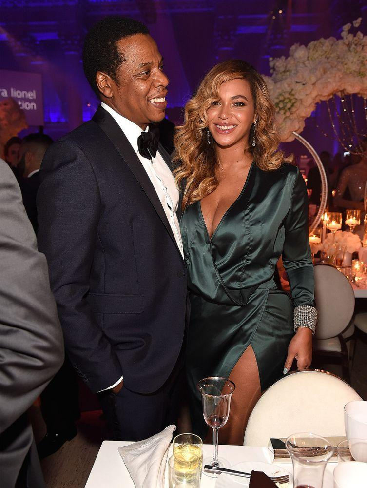 JAY-Z and Beyoncé in Septembe