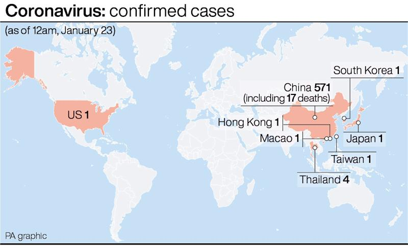 China coronavirus: Patients in Scotland tested for coronavirus
