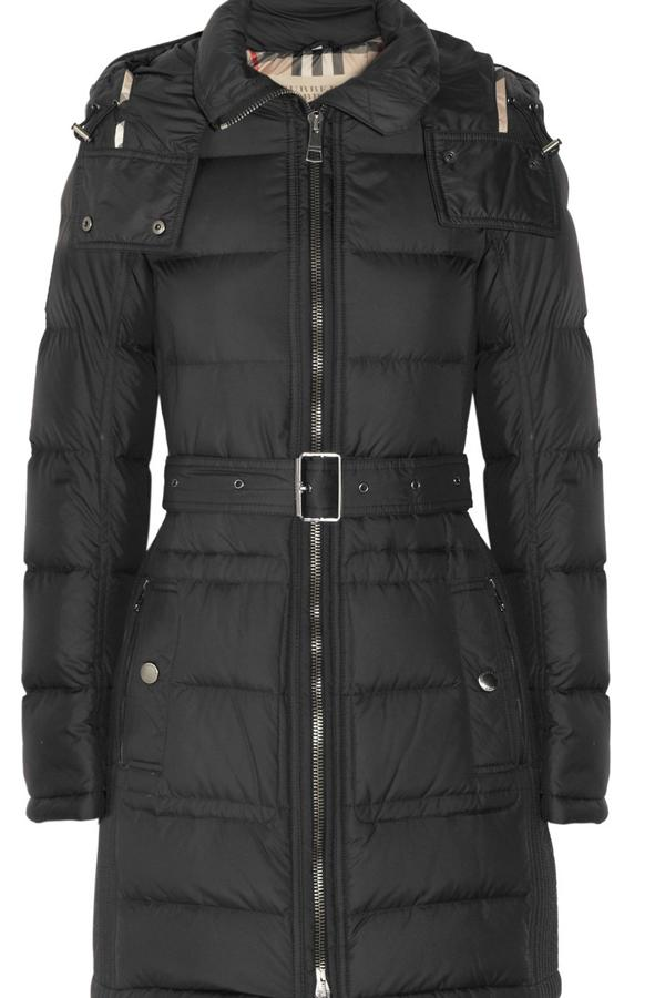 "<b>Snow style: </b>Burberry have got winter wrapped up in this fashionable quilted parka, £495 <a target=""_blank"" href=""http://www.net-a-porter.com/product/312222"">net-a-porter.com</a>"