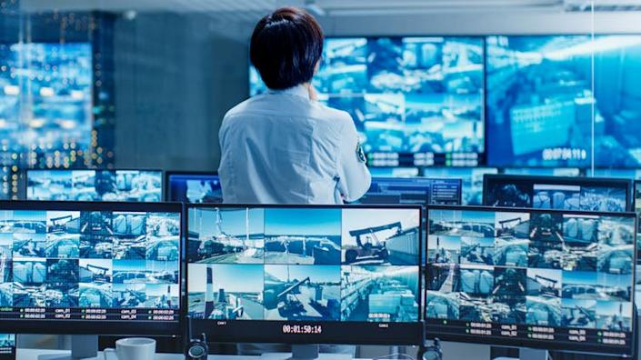 """<span class=""""caption"""">Human operators can rely too much on machines.</span> <span class=""""attribution""""><a class=""""link rapid-noclick-resp"""" href=""""https://www.shutterstock.com/image-photo/security-control-room-officer-monitors-multiple-771480619?src=-1-0"""" rel=""""nofollow noopener"""" target=""""_blank"""" data-ylk=""""slk:Gorodenkoff"""">Gorodenkoff</a></span>"""