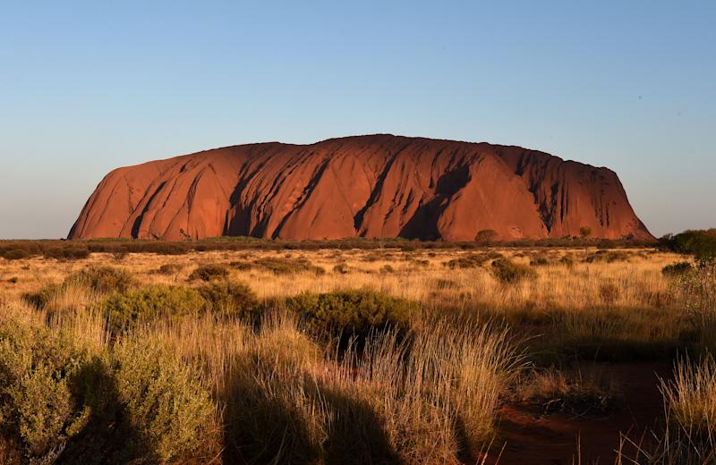 Uluru is regarded as a sacred location by the local Indigenous community. Source: AAP