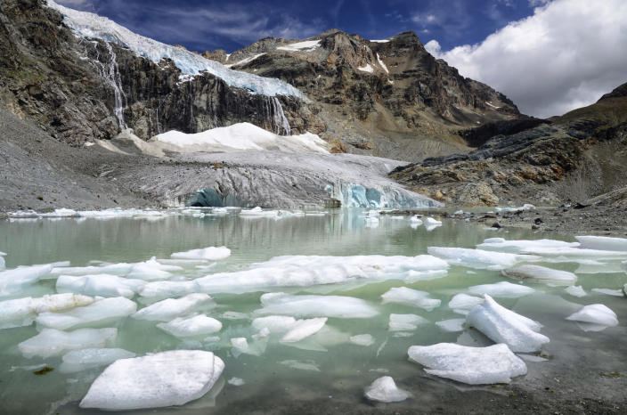 melting glacier Credit: Andrea Toffaletti. 500px. Getty Images