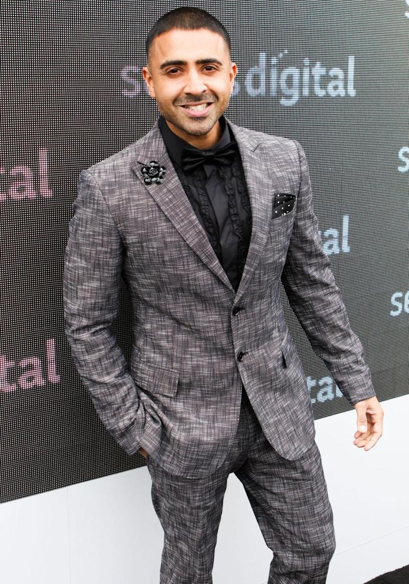Jay was a special international guest in the Sensis marquee on Tuesday for the Melbourne Cup held at Flemington Racecourse. Source: Getty