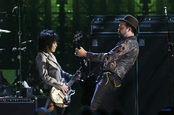 Nirvana Reunite With Lorde, Joan Jett on Vocals for Rock Hall of Fame