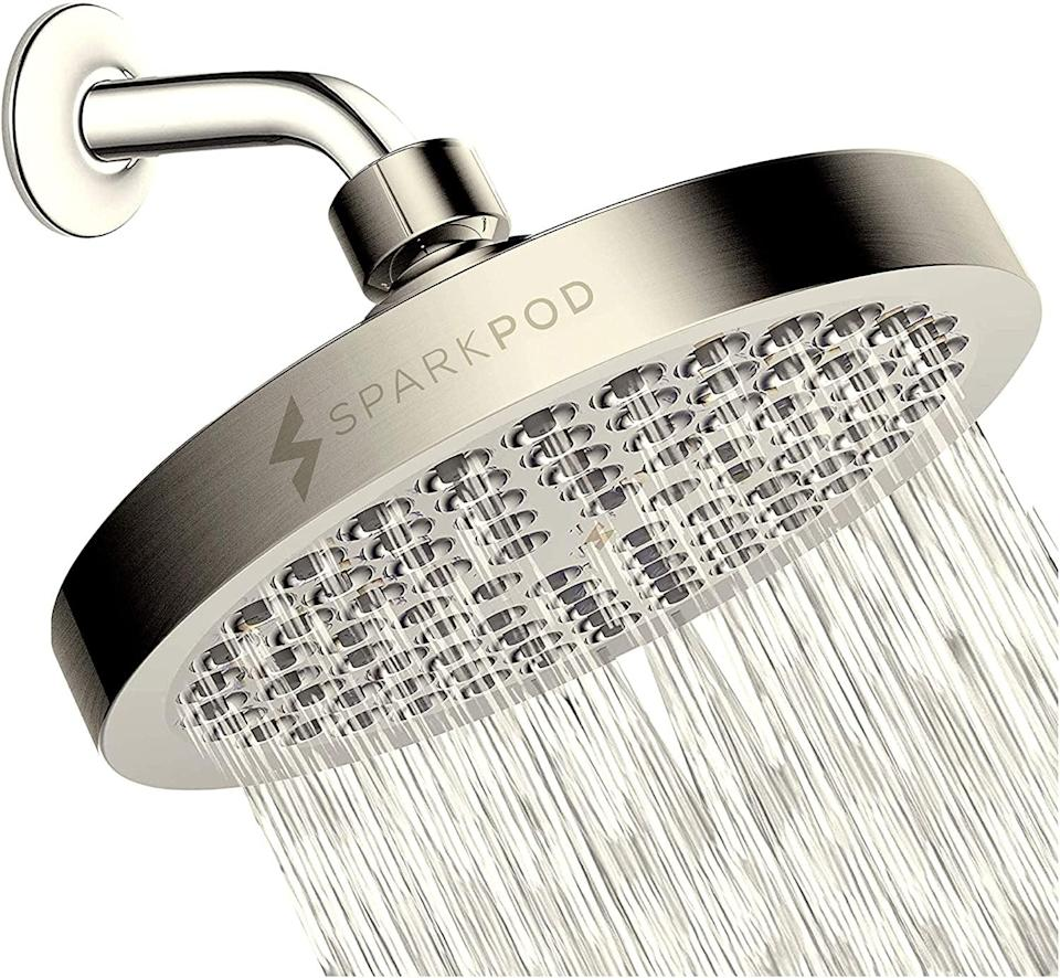 <p>Turn your shower into a luxe oasis with this <span>SparkPod Shower Head</span> ($35, originally $42). It has a modern, sleek look that provides a high-pressure, rain-like fall.</p>