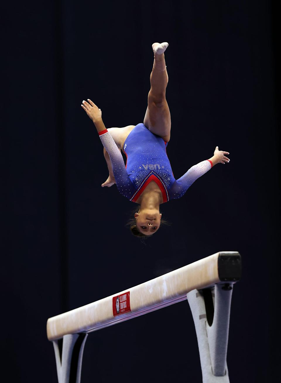 <p>Malabuyo was fourth in the all-around at the 2021 US Gymnastics Championships. The 18-year-old is another UCLA commit.</p>