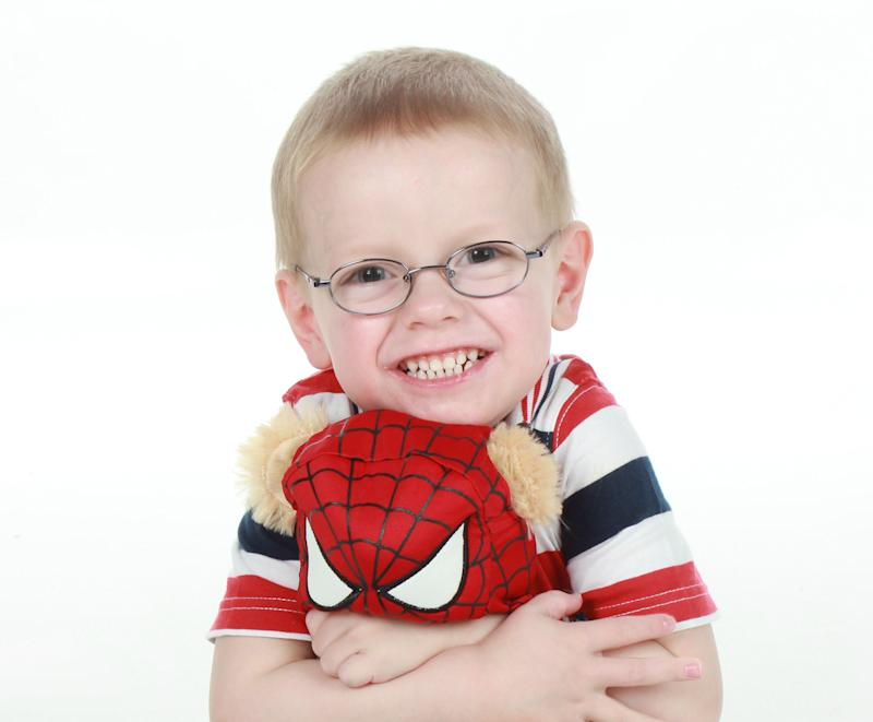 Henry Allen was diagnosed with High Risk Neuroblastoma, an aggressive childhood cancer that affects nerve tissue [Photo: Supplied by Dawn Allen]