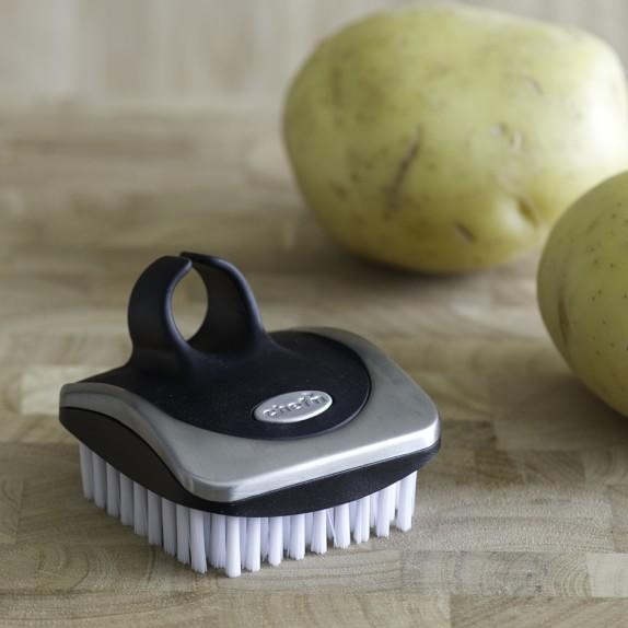 Keep your organic veggies clean and meal ready with this beauty of a brush.