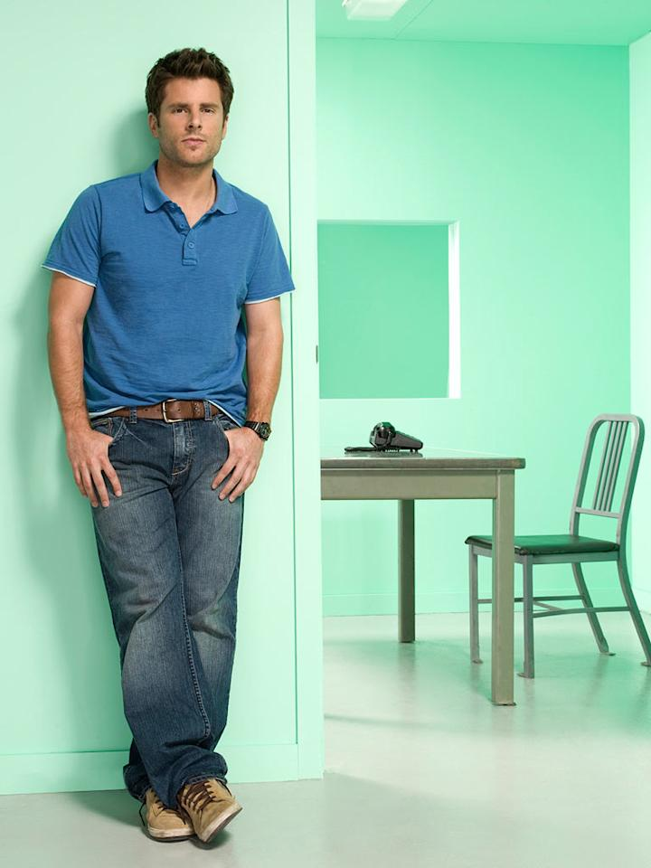 "James Roday stars as Shawn Spencer in ""Psych."""
