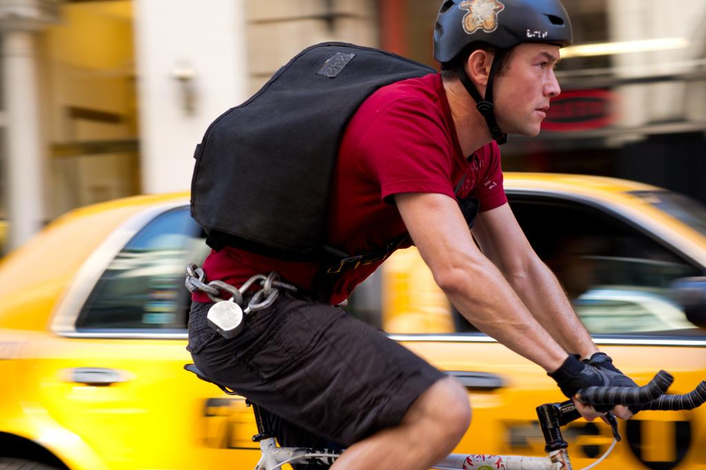 """<b>Wild Man</b><br><br>Joseph Gordon-Levitt plays Wilee, a daredevil bike messenger who is the fastest in New York City. And it's dangerous: """"He rides with no brakes, which is a good metaphor for who he is and how he is. He's the type of person who lives in the present and goes for it,"""" Gordon-Levitt says, adding, """"I think as the movie goes on, it reveals the merits of that way of present living, but also, in Wilee's relationship with Vanessa, its flaws."""""""