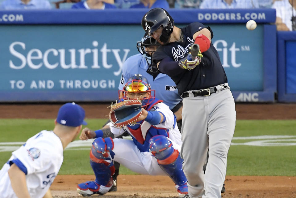 Nick Elam's concept for the strike zone is to encourage batters to put the ball in play early in the count by expanding the size of the strike zone as a plate appearance continues. (AP)