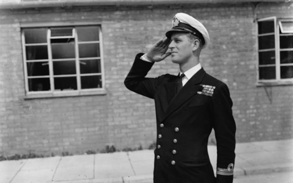 Prince Philip, pictured before his marriage to the Queen - Getty