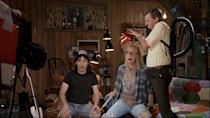 """<p>The Wayne's World cable show is basically a series of idiotic escapades designed to terrify Garth to his very core. One episode sees him given a haircut by a new invention called a 'Suck-Cut': a cross between a vaccuum cleaner and a barber. It doesn't end well for Garth: """"Turn it off man, turn it off! It's sucking my will to live! Oh, the humanity!"""" (Credit: Paramount Pictures) </p>"""