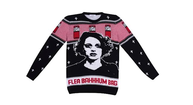 The fleabag jumper - complete with PWB's face - caught our attention. [Photo: NotJust]