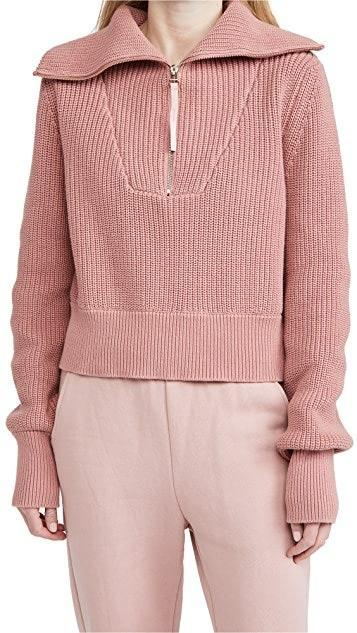 "Yellow and gray may be Pantone's colors of the year, but dusty rose is our forever aesthetic. Wear this boxy knit with pants of a similar shade for a tonal look that's anything but boring. $148, Shopbop. <a href=""https://www.shopbop.com/mentone-top-varley/vp/v=1/1574355837.htm"" rel=""nofollow noopener"" target=""_blank"" data-ylk=""slk:Get it now!"" class=""link rapid-noclick-resp"">Get it now!</a>"