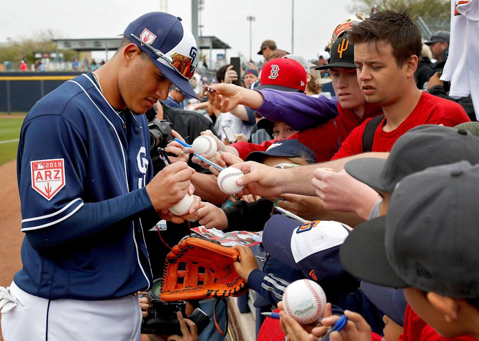 Manny Machado signing with the San Diego Padres has changed the trajectory for the organization. (AP Photo/Matt York)